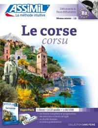 Superpack Usb Corse (livre+4 CD audio+1clé USB)