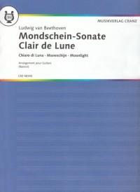 Clair de Lune Arrangement pour Guitare (F,D,E,I,N)