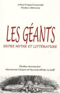 Les géants : Entre mythe et littérature