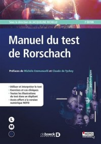 Manuel du test de Rorschach