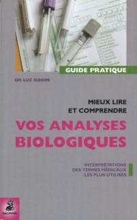 Mieux lire et comprendre les analyses biologiques : Termes médicaux les plus utilisés et leurs interprétations