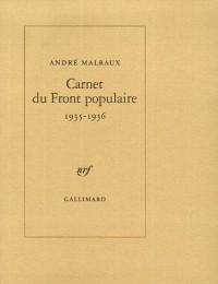 Carnet du Front populaire 1935-1936