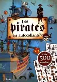 Les pirates en autocollants