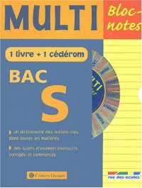 Multi Bloc-notes Bac S (1 CD-Rom inclus)