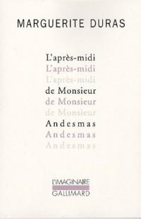 L'après-midi de Monsieur Andesmas (1CD audio)