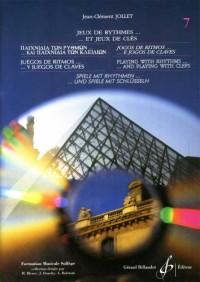 Jeux de Rythmes et Jeux de Cles - 6 Langues - Volume 7