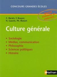 Culture générale : Concours grandes écoles