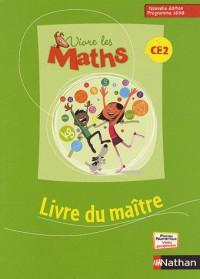 Vivre les maths CE2 livre du maitre 2009 nouvelle édition