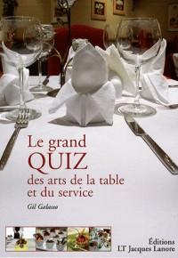 Le grand quiz des arts de la table et du service