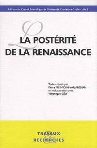 La postérité de la Renaissance