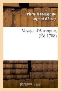 Voyage d Auvergne  ed 1788
