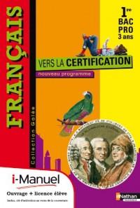 Français Première Bac Pro Cahier d'Activites (Galee) Licence Numerique Eleve - I-Manuel+Ouvrage Papier