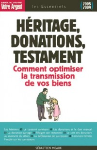 Héritage, donations, testament : Les règles à connaître pour optimiser la transmission de vos biens