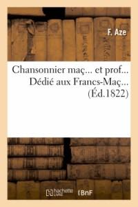Chansonnier Mac. et Prof.
