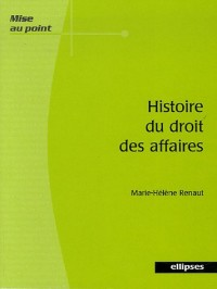Histoire du droit des affaires