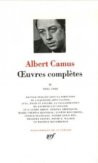 Oeuvres complètes : Tome 2, 1944-1948