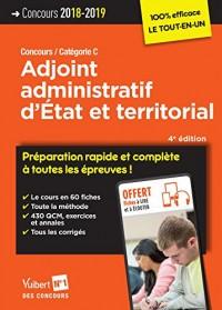 Concours Adjoint Administratif d'Etat et Territorial 4e Edt