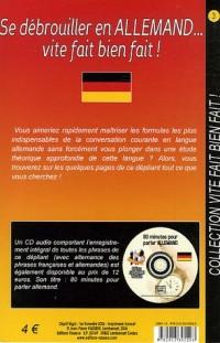 Se débrouiller en Allemand... vite fait bien fait ! (1CD audio)