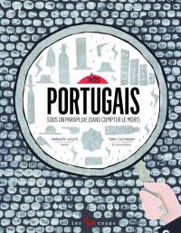 Trois portugais sous un parapluie