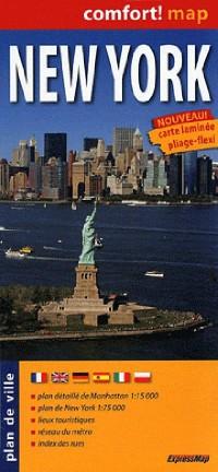 New York (Fr) 1/75.000 - 1/15.000