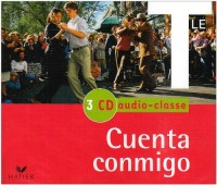 Cuenta Conmigo - Espagnol Terminale, 3 CD Audio Classe