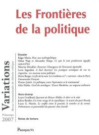 Les Frontières de la politique