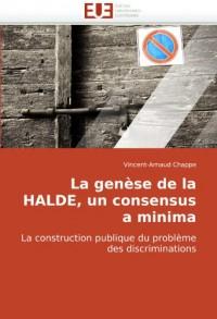 La genèse de la HALDE, un consensus a minima: La construction publique du problème des discriminations