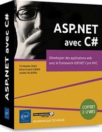 ASP.NET avec C# : Coffret en 2 volumes : Développer des applications web avec le framework ASP.NET Core MVC