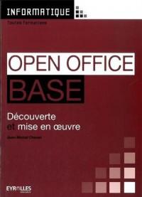 Open Office Base : Découverte et mise en oeuvre
