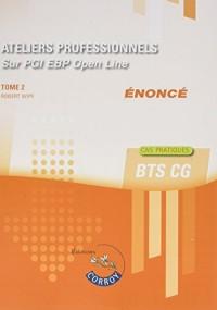 Ateliers professionnels T2 - Enoncé: Sur PGI EBP Open Line