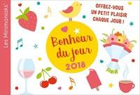 CALENDRIER - Minimaniak Bonheur du jour 2018