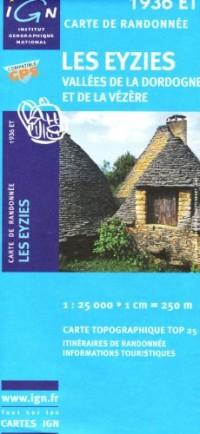 Les Eyzies / Vallees De La Dordogne Et De La Vezere GPS: Ign.1936et