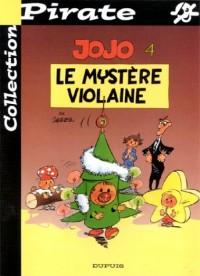 BD Pirate : Jojo, tome 4 : Le mystère Violaine