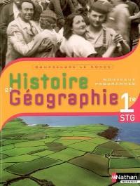 Histoire et Géographie 1e STG
