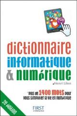 Dictionnaire informatique et numérique [Poche]