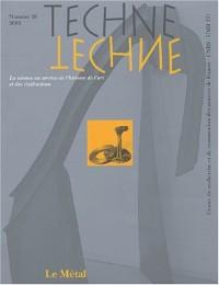 Technè, N° 18/2003 : Le Métal