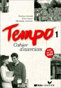 Tempo 1 : Cahier d'exercices (avec 1 CD-Audio)