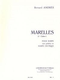 Bernard Andrès - Marelles pour harpe (1er cahier). Partitions pour Harpe, Partitions