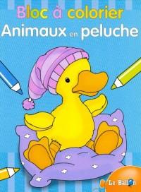Bloc a Colorier Animaux en Peluche
