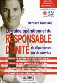 Le guide opérationnel du responsable d'unité, de département ou de service