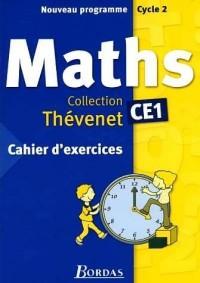 Cahier d'exercices Thévenet 2004 : Mathématiques, CE1