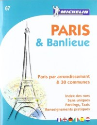 Plan de Paris & Banlieue (format A4)