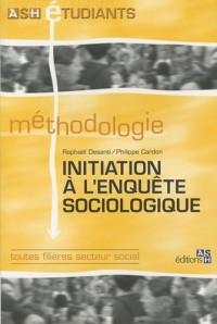 L'initiation à l'enquête sociologique