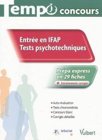 Entrée en IFAP
