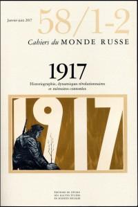 Cahiers du Monde Russe 58/1-2