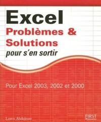 Excel problèmes et solutions(Ancien prix éditeur : 24,90 Euros)