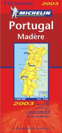 Carte routière : Portugal - Madère, N° 11733