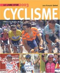 Livre d'or du cyclisme 2003