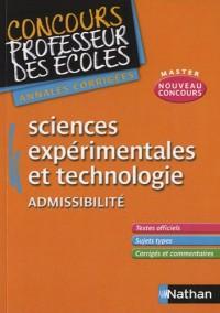 Sciences et technologie CRPE 2011 Admissibilité