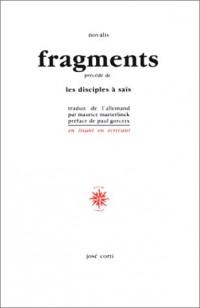 Fragments, précédé de